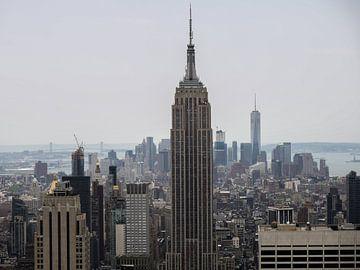 Overzicht Manhattan van Maxpix, creatieve fotografie