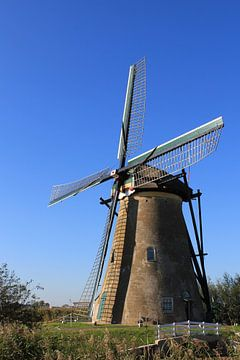Windmill in Kinderdijk sur Yvonne Blokland