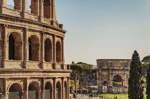 Colosseum Rome, Italy van