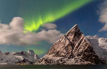 Nordlicht auf den Lofoten, Norwegen von Adelheid Smitt