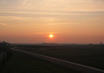Texel Landschap 18 van Starworks Lien van der Star