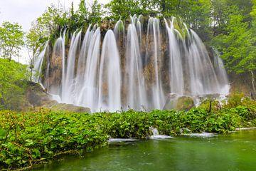Parc naturel des lacs de plitvice en Croatie