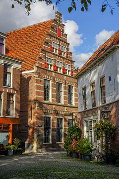 School waar Rembrandt les kreeg van Dirk van Egmond