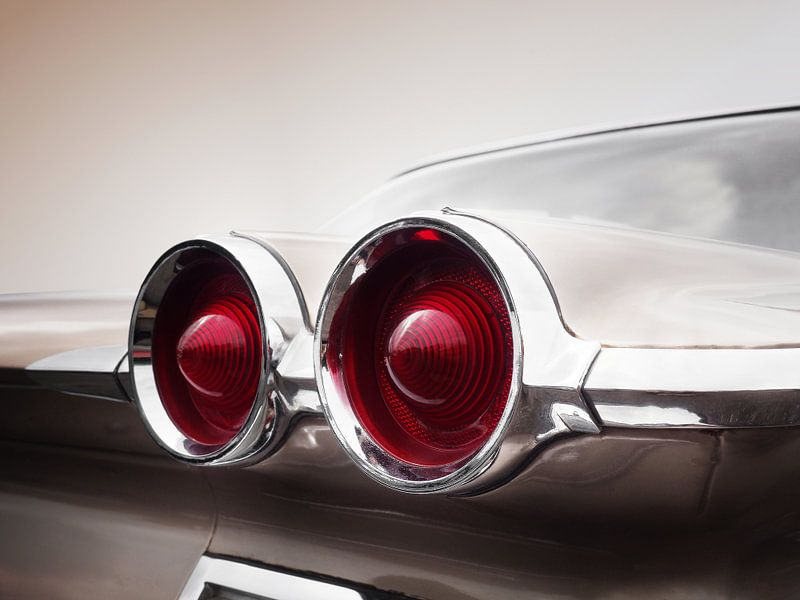 Amerikaanse klassieke auto 1960 Catalina van Beate Gube