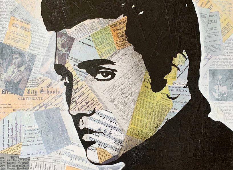 Elvis Presley Liebeslied von Kathleen Artist Fine Art