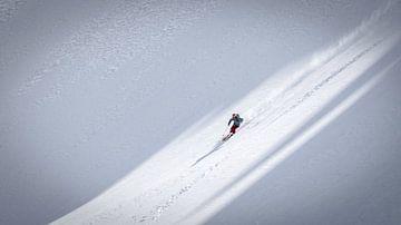 Freeride ski van Martijn Hinrichs