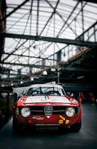 Alfa Romeo GT Junior racer van Bas Bleijenberg