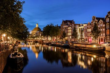 De Amsterdamse Singel en Koepelkerk van Arno Prijs