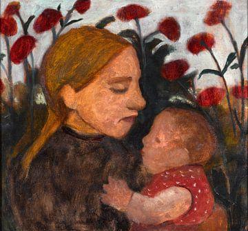 Paula Modersohn-Becker. Fille avec enfant
