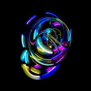 lichtbol van Peter Mensink