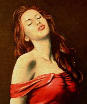 Portrait de femme sexy sur Marita Zacharias
