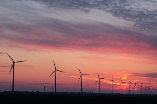 Windmolens Wieringerwerf von Sander Maas