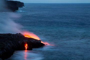 Lava auf Hawaii von Dirk Rüter