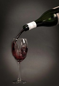 Rode wijn van Marjolein van Middelkoop