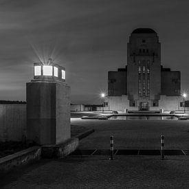 Der ehemalige Radiosender Radio Kootwijk auf der Veluwe in der Nacht von MS Fotografie | Marc van der Stelt