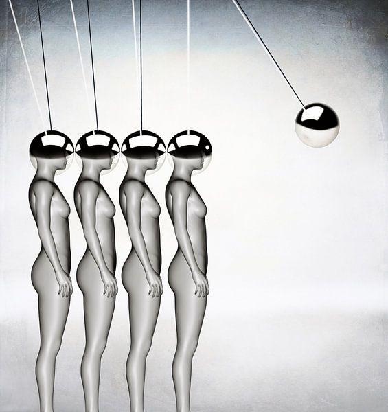 Momentum surrealistisch von Jacky Gerritsen