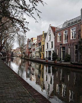 Grachtenpanden in Utrecht sur Kim de Been