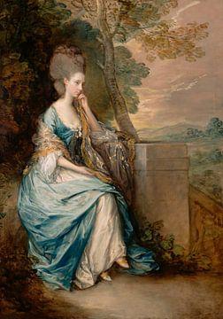 Porträt von Anne, Gräfin von Chesterfield, Thomas Gainsborough