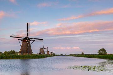 Unesco Werelderfgoed Kinderdijk van Jan Koppelaar