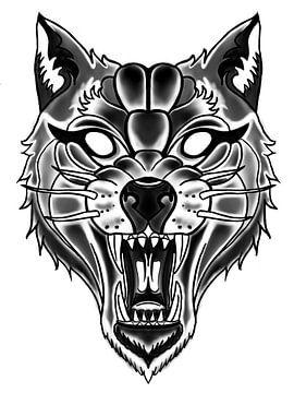 Wütender Wolf von Blckwork ..