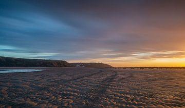 Sunset sky van M. Cornu