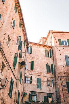 Stadtbild von Siena von Kimberley Jekel