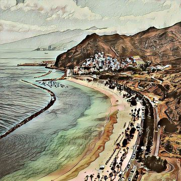 Toony Tenerife 1 von Angelika Möthrath