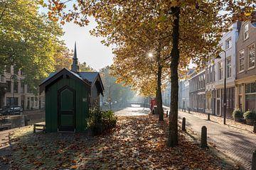 Tolhuis bij het Amsterdams Verlaat in Gouda van Gouda op zijn mooist