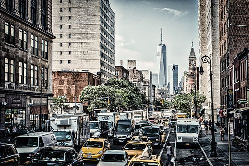 One World Trade Center van