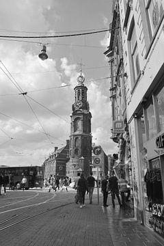 Amsterdam Munttoren von Marianna Pobedimova