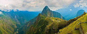 Panorama Machu Picchu, Peru von Henk Meijer Photography