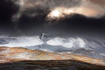 Berglandschap in de herfst van Ko Hoogesteger