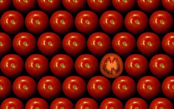 Rode tomaten van Martin Podt