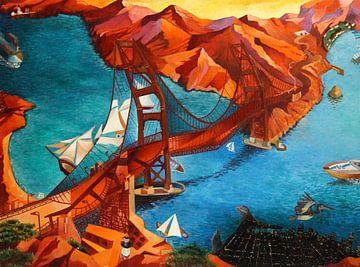 Golden Gate Bridge von Jeroen Quirijns