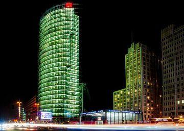Potsdamer Platz Berlijn bij nacht