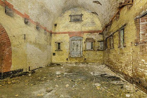 Fort bij Hinderdam, interieur, Nederhorst den Berg, Wijdemeren, Nederland van Martin Stevens