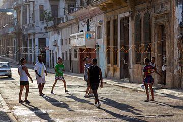 Volley-ball à La Havane sur Dennis Eckert
