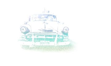 Old Cuba Car van Art of Johan Schulte