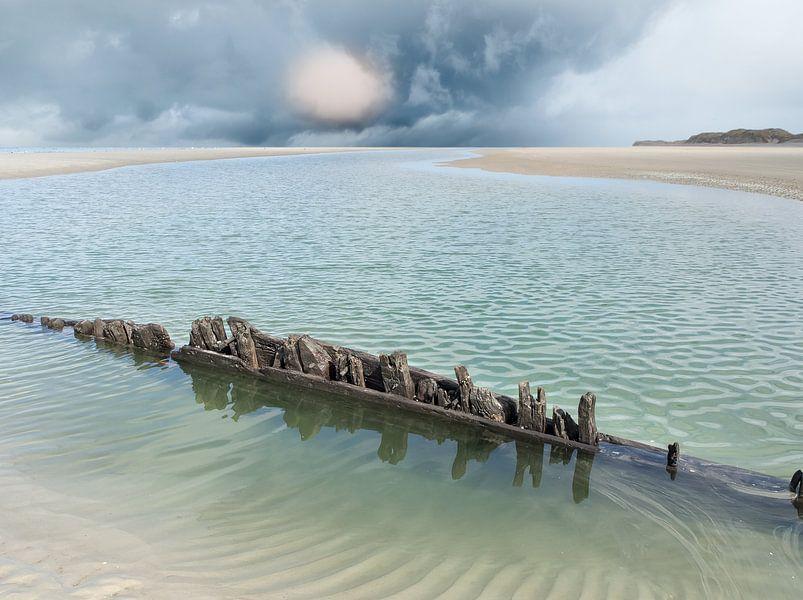 Schiffbruch auf der Boschplaat von Jan Huneman