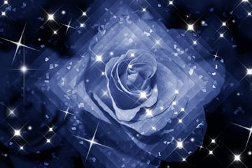 himmlische Rose van Dagmar Marina