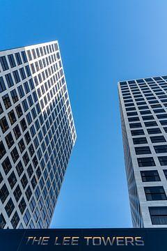 De Lee Towers in Rotterdam van Jeroen Kleiberg