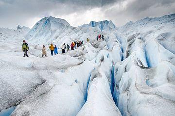 Gletsjerwandeling van Ronne Vinkx