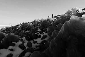 Markermeer - Winter van Maurice Weststrate