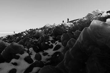 Markermeer - Winter von Maurice Weststrate