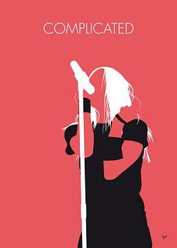 No262 MY Avril Lavigne Minimal Music poster van Chungkong Art