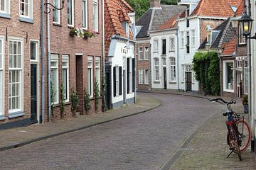 Straat in de binnenstad van Amersfoort