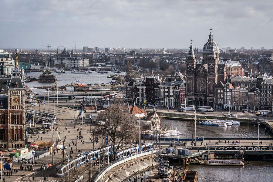 Amsterdam up high. van Renzo Gerritsen