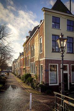 Herengracht Oude rijn Leiden van Dirk van Egmond