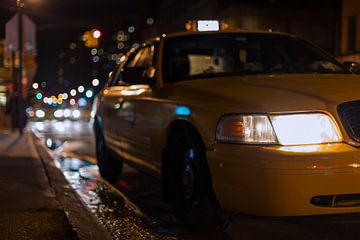 Gele Taxi - New York City van Marcel Kerdijk