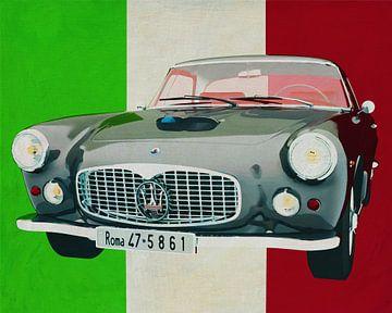 Der Maserati 3500GT von 1960 ein rein italienisches Auto von Jan Keteleer